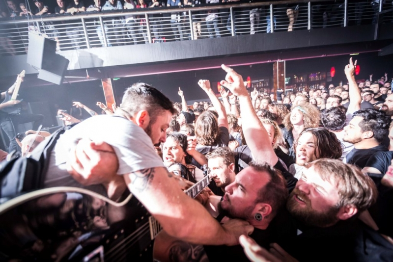 Dillinger Escape Plan LIVE Perth 15 Oct 2017 by Stuart McKay (28)