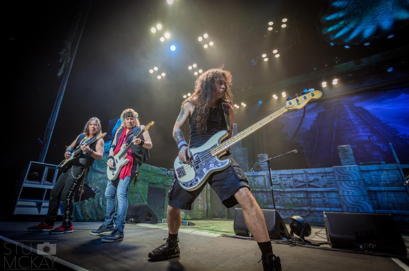Iron Maiden live Perth 14 May 2016 by Stuart McKay (32)