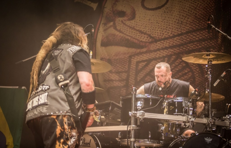 Max & Igor Cavalera live Perth 26 Sep 2017 by Stuart McKay (16)