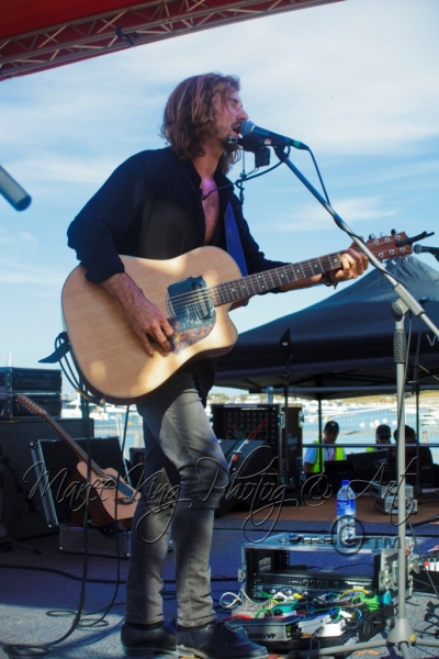 Live - Morgan Bain, Rottnest Island, 23 March 2014 by Maree King  (2)