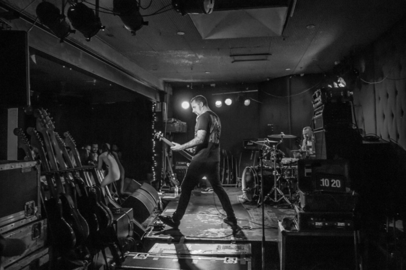 High Tension supporting Shihad in Fremantle 31 Oct 2014 by Stuart McKay  (1)