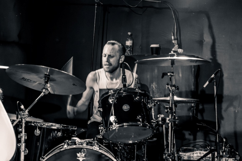 High Tension supporting Shihad in Fremantle 31 Oct 2014 by Stuart McKay  (4)