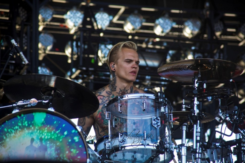 Soundwave Perth 2014 by Maree King - Placebo  (4)
