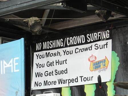 No Moshing