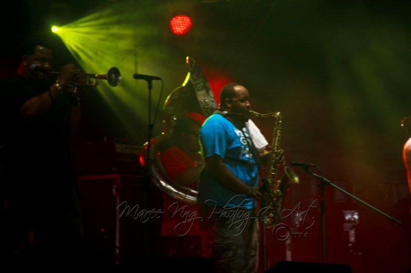 West Coast Blues & Roots 13 Apr 2014 - Soul Rebels by Maree King (1)