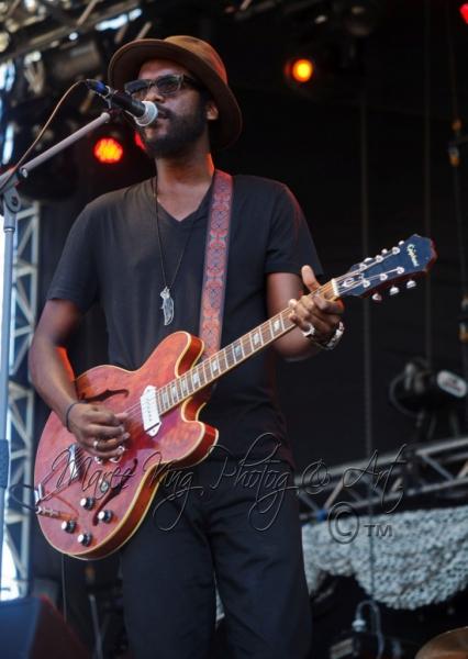 West Coast Blues & Roots 13 Apr 2014 - Gary Clarke Jr by Maree King  (2)