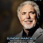LIVE: TOM JONES – Perth, 13 March, 2016