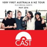 Iconic UK band CAST to tour Australia and New Zealand for the first time in May