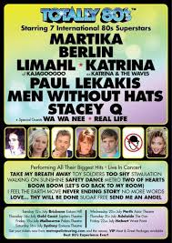 LIVE: TOTALLY '80s – Martika, Berlin, and more – Perth, 19 July, 2016