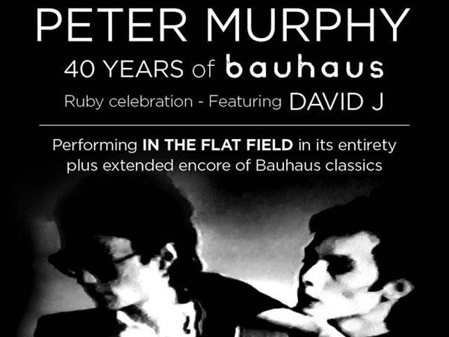 LIVE: PETER MURPHY – Perth, 28 Oct, 2018